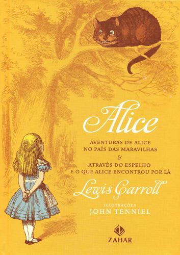 As Aventuras de Alice no Pais das Maravilhas e Atraves do Espelho e o que Alice Encontrou por La_capa