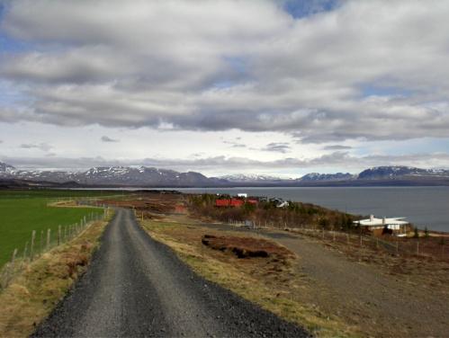 Lago Thingvellir. Local onde o corpo de Agnar foi encontrado. Fonte e para fotos de outras locações utilizadas na obra visite: http://michaelridpath.com/iceland-photo-gallery-1.html#