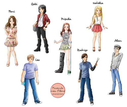 personagens fmf hq